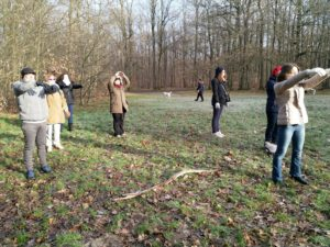 Exercice sophro en nature Hélène Coutand